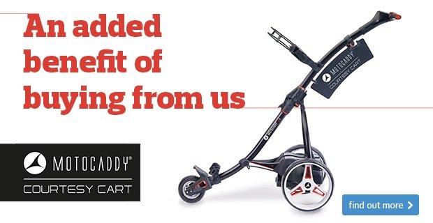 Motocaddy Courtesy Cart