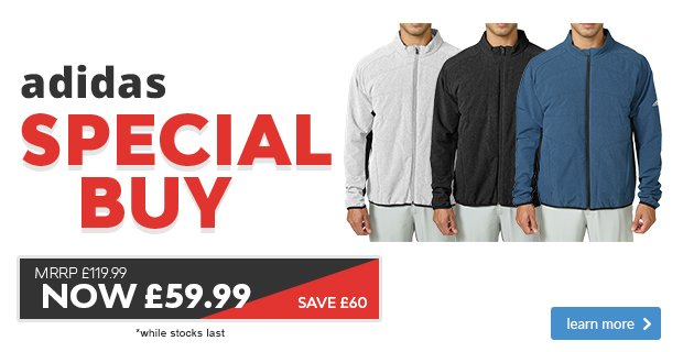 Adidas Primaloft Jacket - save £60